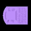 Plaque_BASE.stl Télécharger fichier STL gratuit Plaque du Temple de la renommée • Objet pour imprimante 3D, Jeyill3