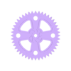 45mmGear.stl Download free STL file Crazy Cogs - Gear Play Set • 3D printer template, PapaBravo