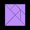 tangram.stl Download free STL file Tangram Puzzle • 3D printer object, 102Creations
