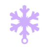 flake3.STL Download free STL file Dainty Snowflake Xmas Ornament • 3D printer object, Odrenria