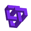 Geometric_Knot.stl Télécharger fichier STL gratuit Nœud géométrique • Design pour impression 3D, Zortrax