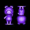 agnes split.stl Download free STL file Agnes - Animal Crossing • Design to 3D print, skelei