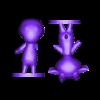 sherb split.stl Download free STL file Sherb - Animal Crossing • 3D print object, skelei