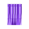 Heavy Gun_05_Bullets_Gold.stl Download STL file Heavy Gun Walker • 3D print design, Jwoong