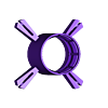 Base.stl Download free STL file Art Deco Vanity Light Shade • 3D printer design, KeenanFinucan