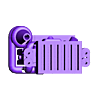 EG25T.stl Télécharger fichier STL gratuit Pack de variétés de moteurs Gaslands • Objet imprimable en 3D, Marcus_GT500