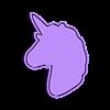 UNICORNIO3.STL Télécharger fichier STL gratuit KIT de 5 moules à biscuits Unicorn • Modèle imprimable en 3D, icepro10