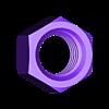 Ecrou_M8.STL Télécharger fichier STL gratuit poignee ronde • Objet à imprimer en 3D, Thomy