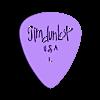 Tim_Dunlop_pick.stl Télécharger fichier STL gratuit Collection unique de plectres pour guitare • Design pour imprimante 3D, Ender3PrintingFan1