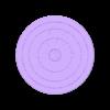 80mm-diameter-0.2mm-clearance-coaster.stl Télécharger fichier STL gratuit Un sous-verre avec une touche de fantaisie • Plan imprimable en 3D, the-lazy-engineer