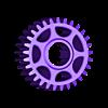 Center Drive Gear M1_29.STL Télécharger fichier STL gratuit Camion 4WD 1:16 RC (échantillon) • Design imprimable en 3D, OM3
