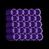 Marker-Rack-Prismacolor-25-Aligned-Tiered.stl Télécharger fichier STL gratuit Porte-repères Prismacolor • Objet imprimable en 3D, Reneton