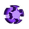 IcosaVconnector_dot3mm.stl Download free STL file Make Your Own Platonic Icosahedron, Snap • 3D printable design, LGBU