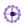 escapeWheel.stl Download free STL file 3D Printed Galileo Escapement Clock with Hands • 3D printing object, JacquesFavre