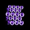GangstaChess_FullSet-FixedBottom_1.6inchDiameterFeet.stl Télécharger fichier STL gratuit Gangsta Chess Set as one build plate • Modèle à imprimer en 3D, Bolog3D