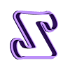 Z.stl Download STL file sharp letters Cooper Black • 3D printing model, juanchininaiara