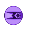 Peg_for_Mount_v2.STL Télécharger fichier STL gratuit Support GoPro pour bodyboard v2 • Plan pour impression 3D, Cerragh