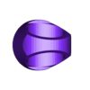 ORANGE_-_lantern_ring.STL Download free STL file Lantern corps rings • 3D printer design, Clenarone