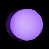 1UP_modular_dot_1.stl Download free STL file Super Mario Mushroom 1UP Hanger (Dual & Modular Single Extrusion) • 3D printable design, Runstone
