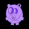 puh.stl Télécharger fichier STL gratuit Porte-clés Panda • Plan pour imprimante 3D, shuranikishin