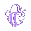 bee.stl Télécharger fichier STL gratuit bee • Objet pour impression 3D, syzguru11