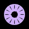 PTW-00-1-PT-0260_Reel_Flat_Network_Cable_Spool.STL Télécharger fichier STL gratuit Bobine pour le câble de réseau plat • Design à imprimer en 3D, guido66611x