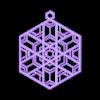 Ornament_C.stl Télécharger fichier OBJ gratuit Quatre ornements inspirés du vitrail • Design pour imprimante 3D, Not3dred