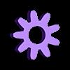 Sun Core.STL Télécharger fichier STL gratuit Pendentif d'engrenage planétaire/Key Ring • Plan pour impression 3D, HC3DPrints