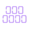 Links.stl Télécharger fichier STL gratuit Amulette magique pour un magicien ou un mage • Modèle pour imprimante 3D, plokr
