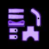 ENTIRE_KNIFE_MOUNT.stl Download free STL file Kitchen Rail • Template to 3D print, MakerMind