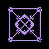 """GR1FF_V3.1.stl Télécharger fichier STL gratuit GR1FF V3 Cadre 2.5"""" - Moteurs 070x & 110x • Modèle pour impression 3D, Gophy"""