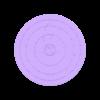 100mm-diameter-0.2mm-clearance-coaster.stl Télécharger fichier STL gratuit Un sous-verre avec une touche de fantaisie • Plan imprimable en 3D, the-lazy-engineer