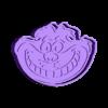 alicia.stl Download STL file The Cheshire Cat Cookie cutter • 3D printable template, carloseduardoalfonsogarcia