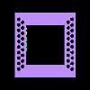 Vase_perforated_frame.stl Télécharger fichier STL gratuit Robinet magique • Objet pour impression 3D, Hazon_Maker