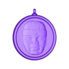 Olmec-Locket.stl Download free STL file Olmec-Head-Pendant • 3D print template, omni-moulage