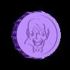 vampiro superior patrón murcielagos.v2.STL Télécharger fichier STL BROYEUR D'HERBE - DIY - VAMPIRE HALLOWEEN • Objet pour impression 3D, SnakeCreations