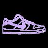 SB Dunk.stl Télécharger fichier STL Nike Dunk • Plan pour imprimante 3D, gaspex