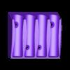 Whiteboard_MarkerHolder_v3.stl Download free STL file Whiteboard marker holder • 3D printing object, a69291954
