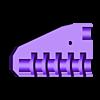 5Bottom.stl Télécharger fichier STL gratuit Kit de verrouillage de permutation personnalisable (verrouillage à combinaison) • Objet pour impression 3D, plasticpasta