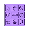 Marvel_Picture.stl Télécharger fichier STL gratuit Photo Marvel • Modèle pour imprimante 3D, CheesmondN