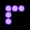 SameH_5.stl Download free STL file Odd Numbers and Square Numbers • 3D printable model, LGBU
