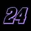 24_Black.stl Download free STL file JEFF GORDON #24 • 3D printer model, GREGCAR_3DPrinting
