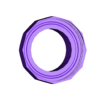 cyclone_funnel_jar_adaptor.stl Download free STL file Cyclone dust collector - low profile • 3D printable design, jimjax