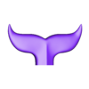 Whale Tail_1.obj Download free OBJ file Whale Tail 1 • Model to 3D print, h3ydari96
