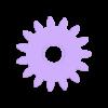 GearMotor.stl Download free STL file Prusa X Axis Motor Gears • 3D printer template, Digitang3D
