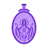 mother mery and jesus pendant medalion jewelry.stl Download free OBJ file Mother mery and jesus pendant medalion jewelry • 3D printable object, Cadagency