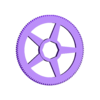 JupiterGearIn106T.stl Télécharger fichier SCAD gratuit Planétarium mécanique • Plan pour impression 3D, Zippityboomba