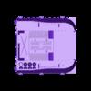 SPG_RearHull_Sized.stl Download free STL file Catoblepas SPG • 3D printable design, nfeyma