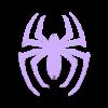 Spidermanlogo.stl Download STL file Spiderman Logo • Model to 3D print, napalmjoey