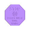 STOP WASH HANDS SIGN.stl Download free STL file COVID please wash your hands sign • Model to 3D print, 3DPrintersaur
